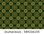 winter snow design wallpaper.... | Shutterstock . vector #589236155