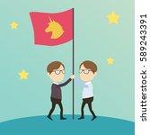 business character illustration....   Shutterstock .eps vector #589243391