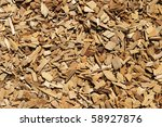 Brown And Tan Wood Chip...