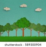 nature landscape    forrest... | Shutterstock . vector #589300904