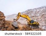 Big Yellow Excavator