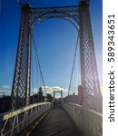 Iron Bridge Across Ness River ...