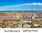 aerial view of the bronx  new... | Shutterstock . vector #589357949