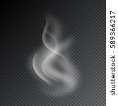 smoke vector illustration on... | Shutterstock .eps vector #589366217