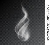 smoke vector illustration on... | Shutterstock .eps vector #589366229