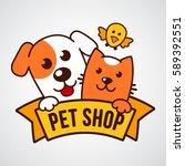 vector logo design template for ... | Shutterstock .eps vector #589392551
