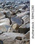 Jetty Breaker Boulders Of Large ...