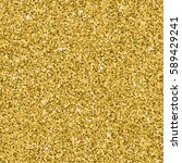 seamless yellow gold glitter... | Shutterstock .eps vector #589429241