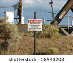 No Trespassing Railroad Sign I...