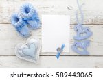 greeting children form with... | Shutterstock . vector #589443065