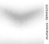 grunge halftone background.... | Shutterstock .eps vector #589493255