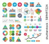 business charts. growth graph.... | Shutterstock . vector #589497224