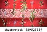 plants background 3d... | Shutterstock . vector #589525589