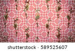 palms background 3d... | Shutterstock . vector #589525607