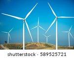 wind power | Shutterstock . vector #589525721