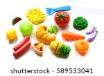 food toy | Shutterstock . vector #589533041