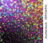 vector confetti. colorful... | Shutterstock .eps vector #589536941