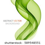 abstract green wave   Shutterstock .eps vector #589548551