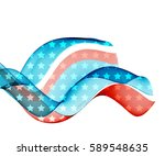abstract image of the american...   Shutterstock .eps vector #589548635