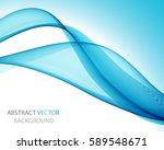 abstract blue wave   Shutterstock .eps vector #589548671