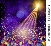 special light effects.... | Shutterstock .eps vector #589566041