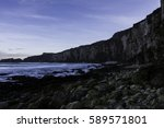 northern ireland north coast | Shutterstock . vector #589571801