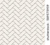 vector seamless pattern. modern ... | Shutterstock .eps vector #589575959