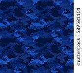 seamless digital pixel fashion...   Shutterstock .eps vector #589581101