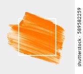 logo abstract background brush... | Shutterstock .eps vector #589582259