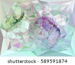 abstract multicolor mosaic... | Shutterstock .eps vector #589591874