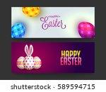 website banners design for... | Shutterstock .eps vector #589594715