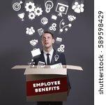 business  technology  internet... | Shutterstock . vector #589598429