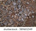 Soil Texture. Brown Ground Soi...