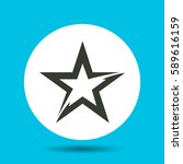 star icon. flat vector...