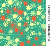 seamless pattern. multi colored ... | Shutterstock .eps vector #589655369