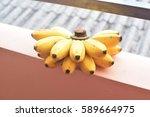 a banana | Shutterstock . vector #589664975