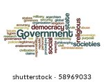 government   word cloud | Shutterstock .eps vector #58969033