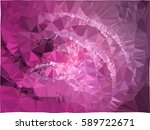 abstract multicolor mosaic... | Shutterstock .eps vector #589722671