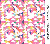 vector abstract triangle...   Shutterstock .eps vector #589760264