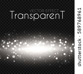 transparent bokeh effect with... | Shutterstock .eps vector #589768961