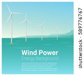 energy concept background with... | Shutterstock .eps vector #589776767
