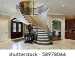 foyer in luxury home with... | Shutterstock . vector #58978066