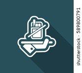 no smoke icon | Shutterstock .eps vector #589800791