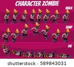 game kits adventure  character... | Shutterstock .eps vector #589843031