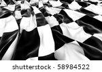 Checkered Flag   3d Render