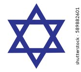 star of david | Shutterstock .eps vector #589882601