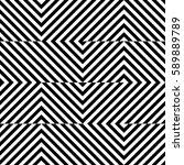 vector seamless pattern.... | Shutterstock .eps vector #589889789