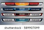 Scoreboard Broadcast Graphic...