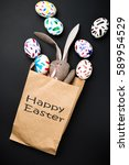 Easter Bunny In A Paper Bag....