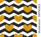 tile vector pattern with golden ...   Shutterstock .eps vector #589961621